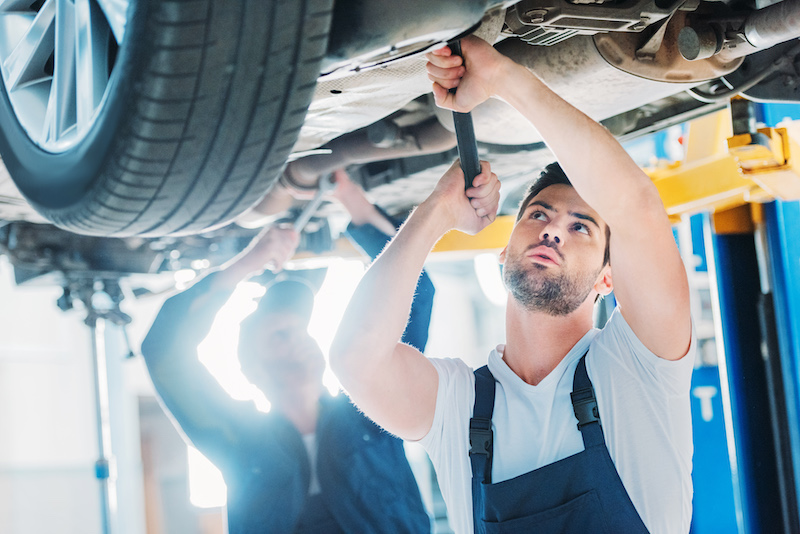 autohaus werkstatt aufbereitung fahrzeugmanagement
