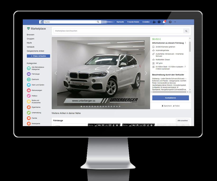 Facebook marketplace Fahrzeuge